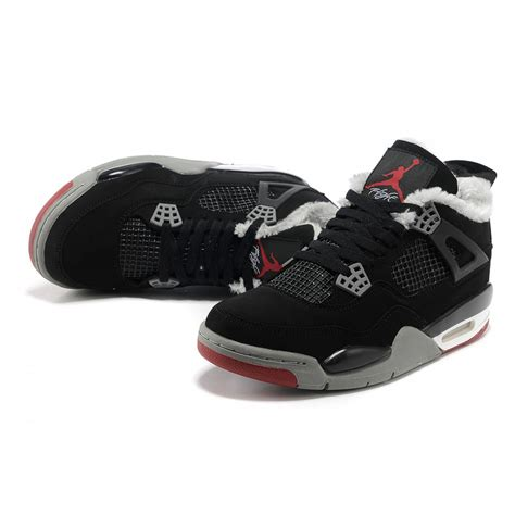 are jordans comfortable air jordan 4 comfortable breathability mid black grey red