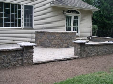 Patio Pavers Nj Brick Paver Patio In Caldwell Nj