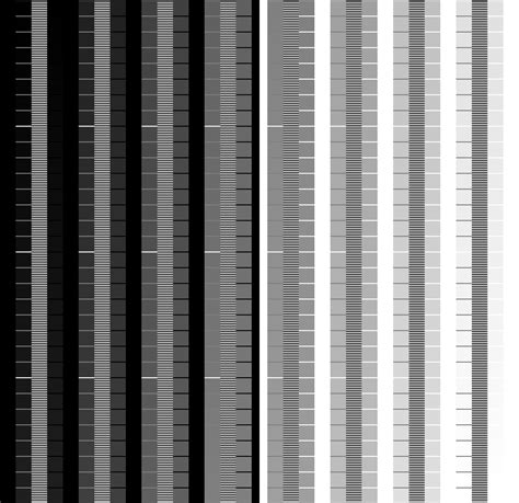 gamma test pattern hdtv color test patterns