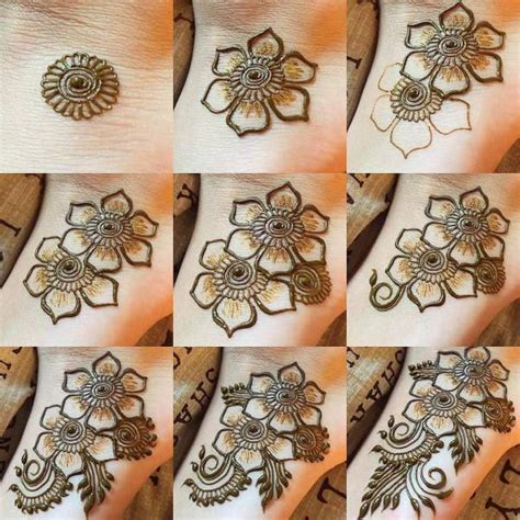 design henna step by step stylish mehndi design for the feet step by step step by