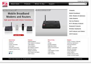 Modem Adsl 3com zoomtel zoom telephonics cable adsl 3g 56k modems zdtv modems wifi bluetooth