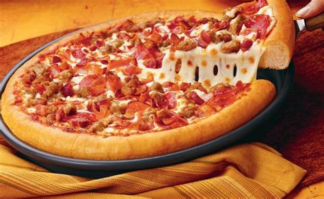 pizza meat lover t i domino s pizza aeon mall long bi 234 n meat lover s pizza by koubbaz