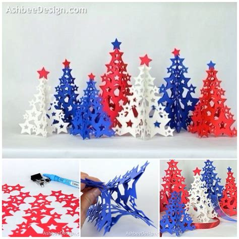 how to diy paper star christmas tree
