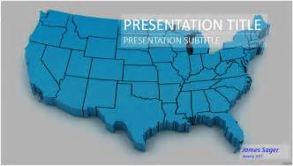 3d usa map powerpoint 20220 free powerpoint 3d usa map