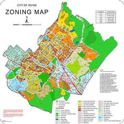 zoning map irvine map my