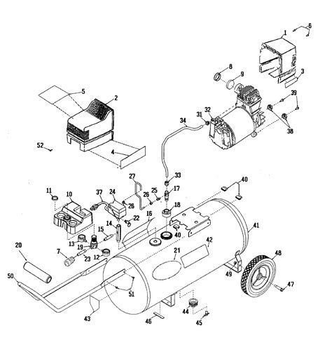 wiring diagram for craftsman air compressor 43 wiring