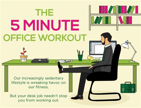 exercise equipment for your desk 5 minute exercise at work