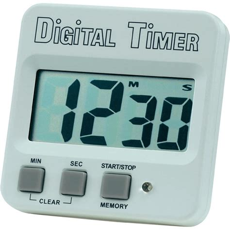 timer 640532 white black from conrad electronic uk