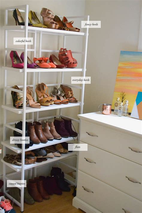 how to organize shoes shoe organization tips