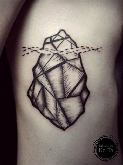 iceberg tattoo 1000 images about tatoos iceberg on geometric
