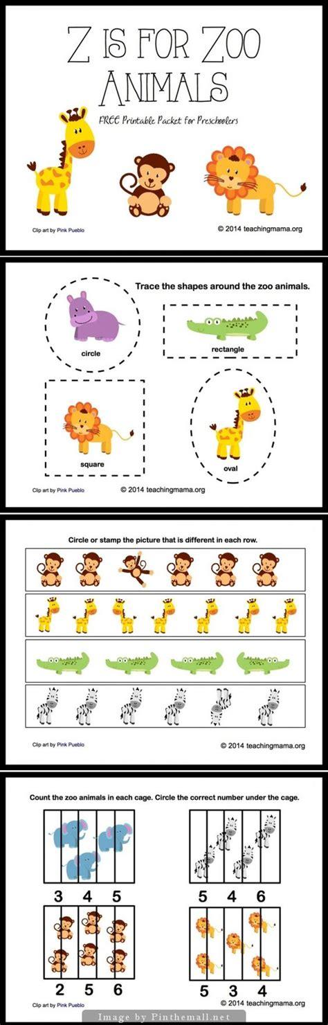 animal pattern worksheets for kindergarten z is for zoo animals letter z printables animales