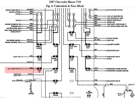 86 chevy k5 blazer wiring diagram 1986 chevy k5 blazer wiring diagram wiring diagrams