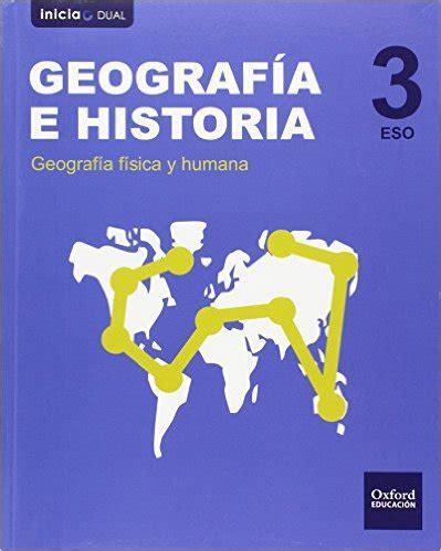 libro geografa e historia 3 geograf 237 a e historia 3 eso oxford educaci 243 n