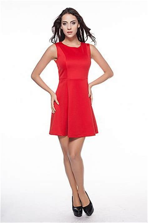 Dress Houndstooth Murah Import Katun Viscose Elegan dress natal merah terbaru 2015 model terbaru jual murah import kerja