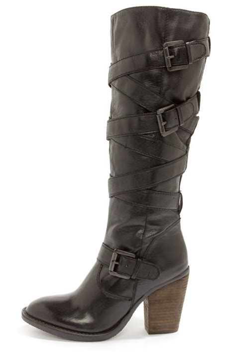 steve madden knee high boots steve madden renegaid boots black boots knee high