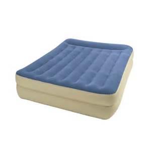 intex pillow rest raised airbed air mattress guest