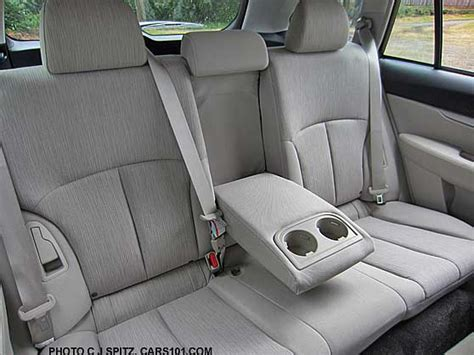 back seat cover for subaru outback 2014 subaru outback rear seat ivory cloth shown