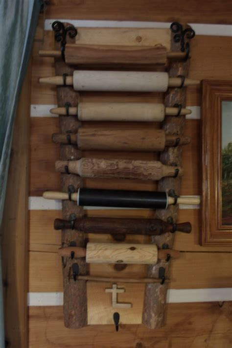 Rolling Pin Rack Display by Display Rack For Rolling Pins That Made For Me