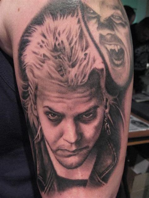 boys tattoos david from the lost boys kiefer sutherland by bob