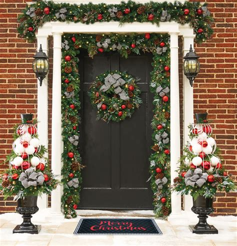 exterior christmas decorating net outside decorations dress up your home improvements
