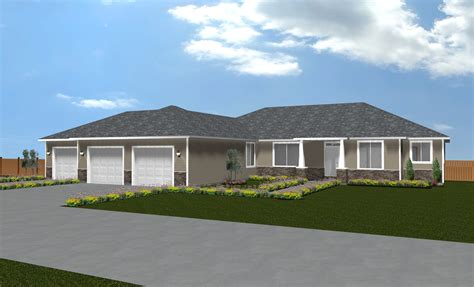 3 car garage homes the jasmine 3038 sqft 3 car garage true built home