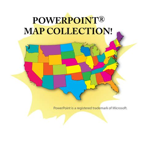 powerpoint map of usa powerpoint map collection usa us states continents