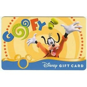 Gift Cards Fab - your wdw store disney collectible gift card fab six goofy
