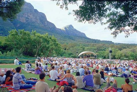 Kirstenbosch Botanical Gardens Concerts Open Air Concert Kirstenbosch Cape Town Western Cape Province South Africa Photo