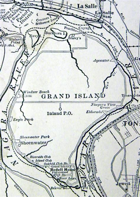 map of grand island buffalo of today