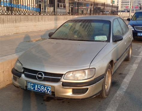 opel china spotted in china opel omega 2 0 gl carnewschina com