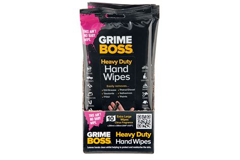 grime boss heavy duty hand wipes product reviews auto