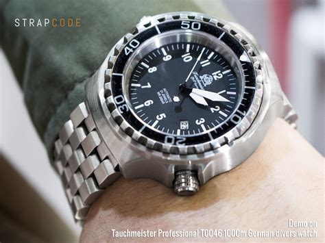 german dive watches fs strapcode miltat bands for tauchmeister t0046