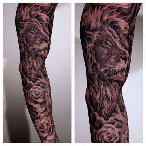 y878naly lion tattoo sleeve energizing and on sleeve tats