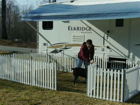rv fence we found portable rv fencing by picket play fencing has anyone tried this product