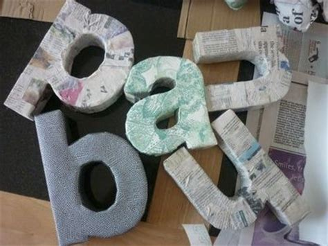 How To Make Paper Letters 3d - diy 3d letters papercraft juxtapost