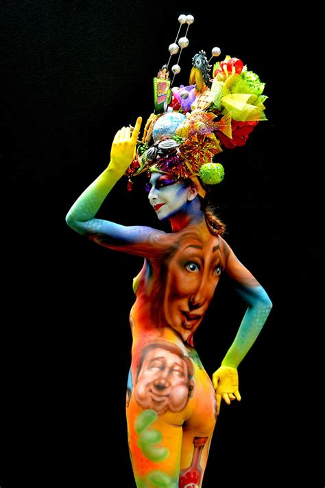 painting festival the 15th world bodypainting festival in austria
