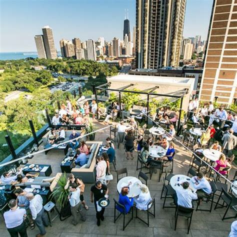 roof top bars chicago best rooftop bars in chicago travel leisure