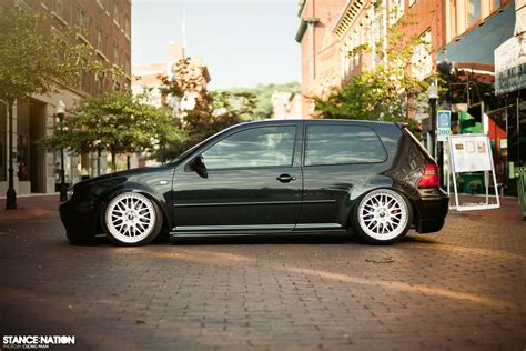 volkswagen golf stance the gallery for gt vw golf mk4 stance
