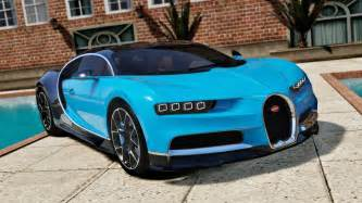 Bugatti On Gta 5 Bugatti Chiron Vision Tuning Add On Gta5 Mods