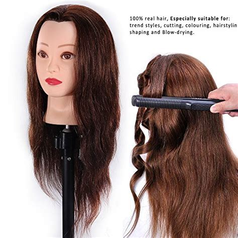 hairstyles to do on manikin mannequin head 100 human hair 24 quot hairdresser training