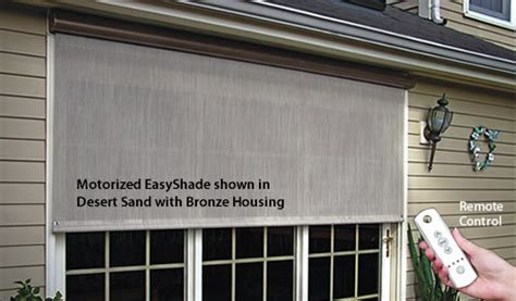 easyshade motorised awnings 11 sunsetter motorized easyshade solar screen sunsetter outdoor solar shades ebay
