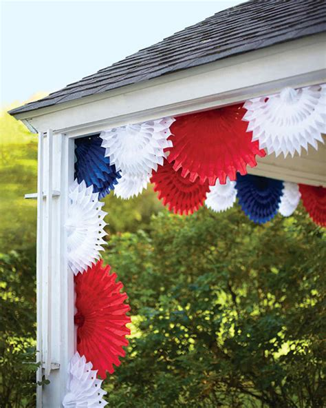 Tissue Paper Decorations by Tissue Paper Fan Decorations Martha Stewart
