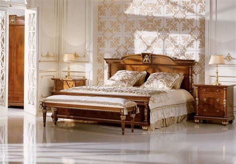 double bed  bedrooms  classic luxury style idfdesign