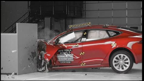 tesla model s structure tesla model s scores well in crash safety tests but falls