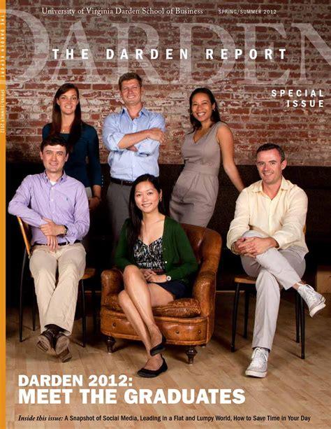 Darden Mba Alumni Portal by Issuu The Darden Report Summer 2012 By Darden