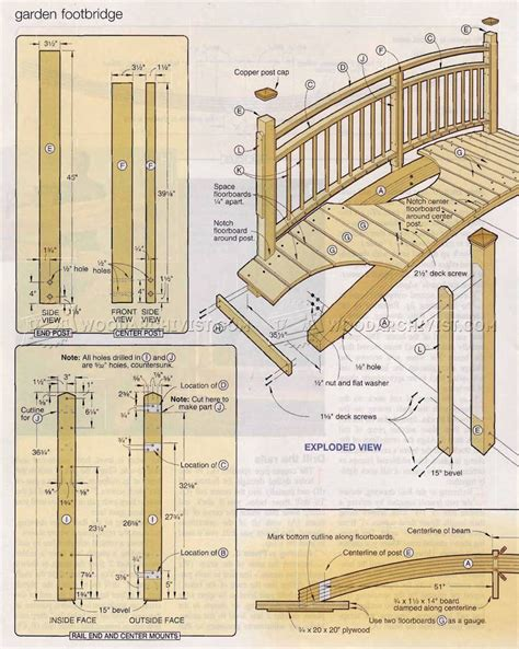 footbridge plans footbridge plans footbridge plans garden bridge ideas