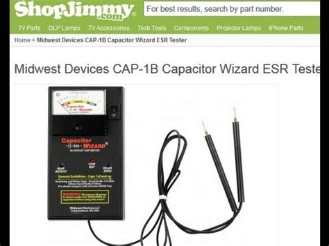 how to check bad capacitors with analog multimeter how to test capacitors in circuit with meter tester