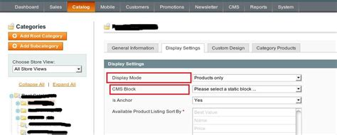 magento category layout update not working add static block into home category from backend