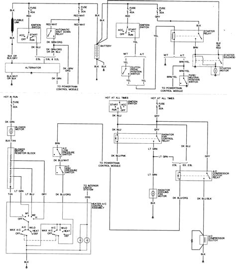 wiring diagram for dodge dakota wiring get free image