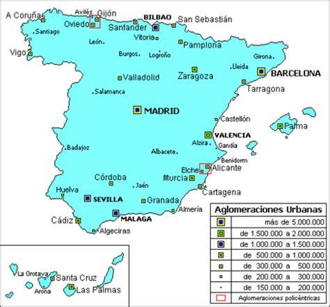 aglomeraciones urbanas aglomeraciones urbanas de espa 241 a 2006